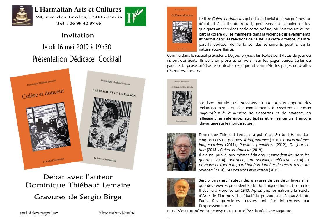 Invitation Dédicace Colére Passions 8 avril 19(2)